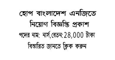 Home-Bangladesh ngo job